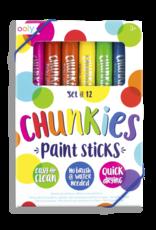 Ooly Chunkies Paint Sticks: Set of 12