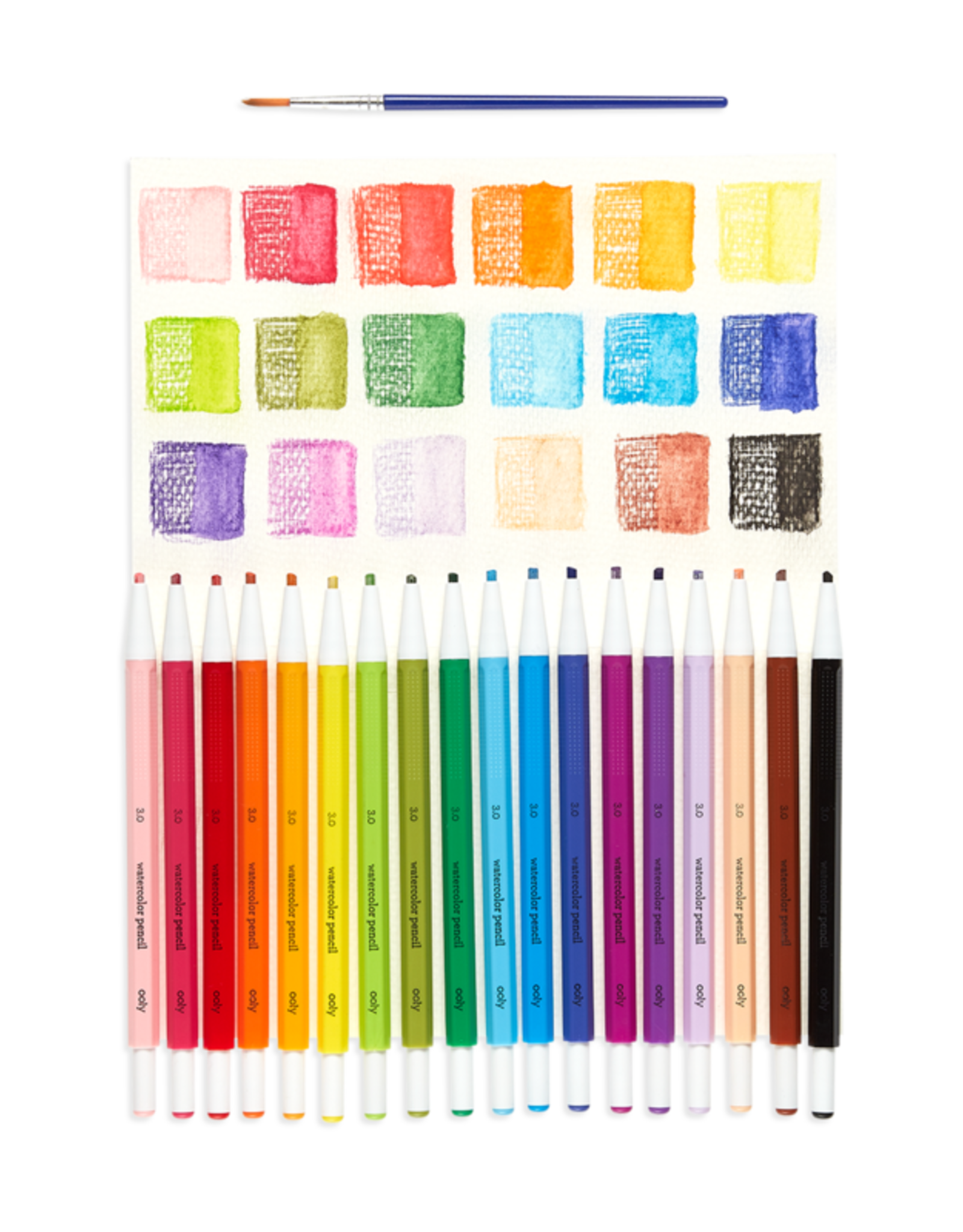 Ooly Chroma Blends Mechanical Watercolor Pencils: Set of 18+Refills