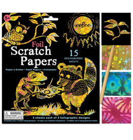 eeBoo Scratch Paper: Holographic Foil