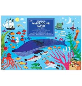 eeBoo In the Sea Watercolor Pad