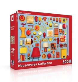 New York Puzzle Company 500 pc Puzzle: Housewares Collection
