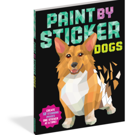 Workman Publishing Paint By Sticker: Dogs