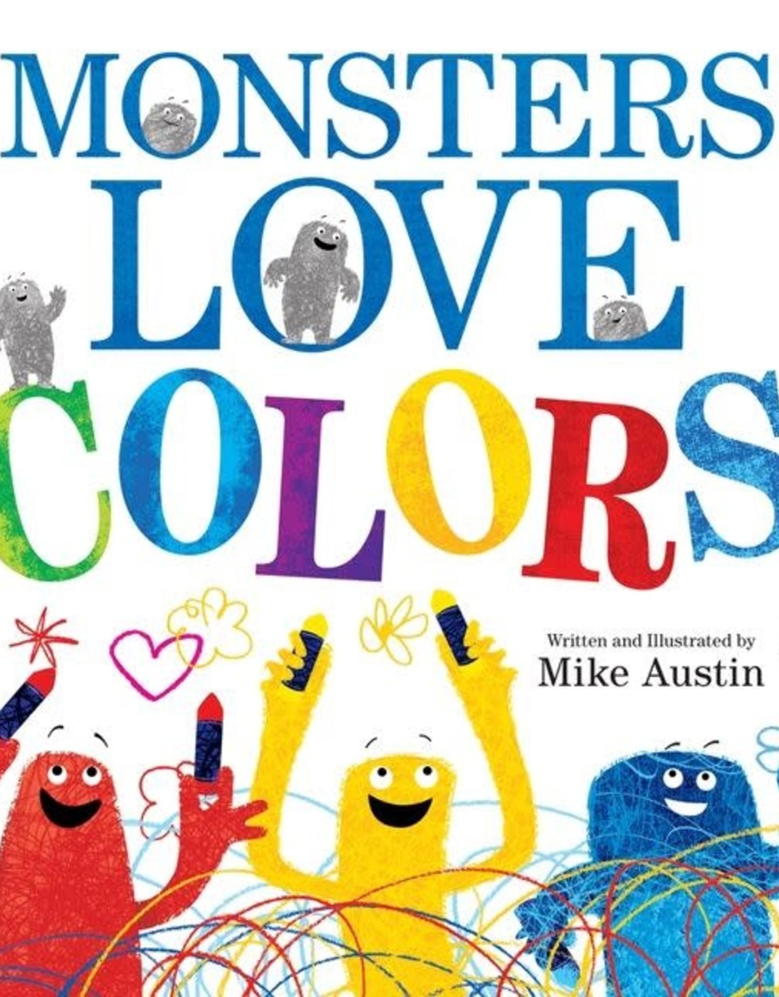 Harper Collins Monsters Love Colors