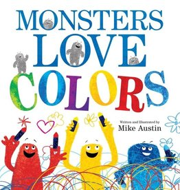 Harper Collins Monsters Love Colors