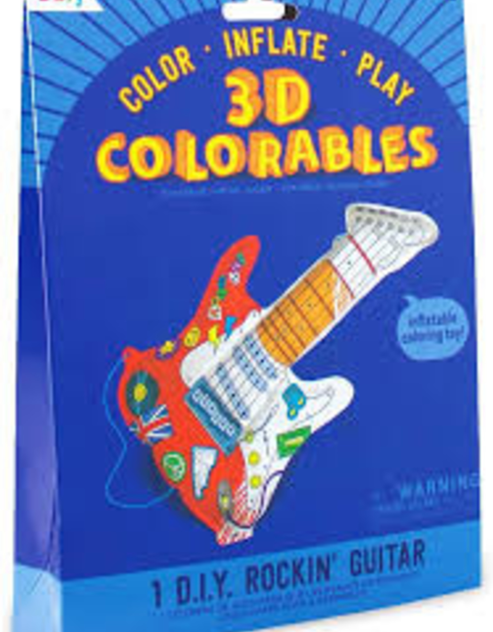 Ooly 3D Colorables: Rockin Guitar