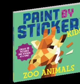 Workman Publishing Paint by Sticker Kids: Zoo Animals