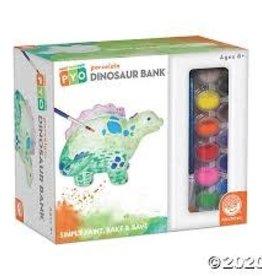 Mindware Paint Your Own Porcelain: Dinosaur Bank