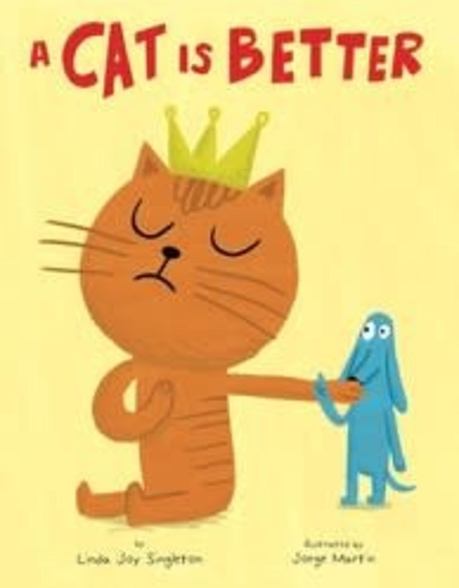 Simon & Schuster A Cat Is Better