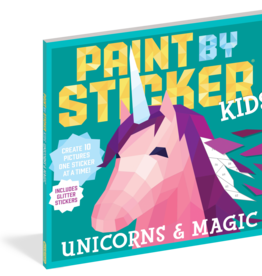 Workman Publishing Paint by Sticker Kids: Unicorns & Magic
