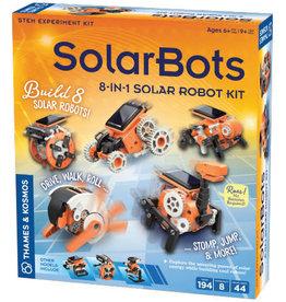 Thames & Kosmos Solarbots: 8in1 Solar Robot Kit