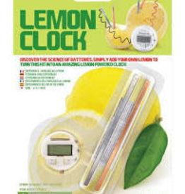 Toysmith Lemon Clock