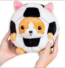 """Squishable Undercover Corgi in Soccer Ball 7"""""""