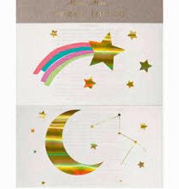 Meri Meri Tattoo: Rainbow Shooting Star LG