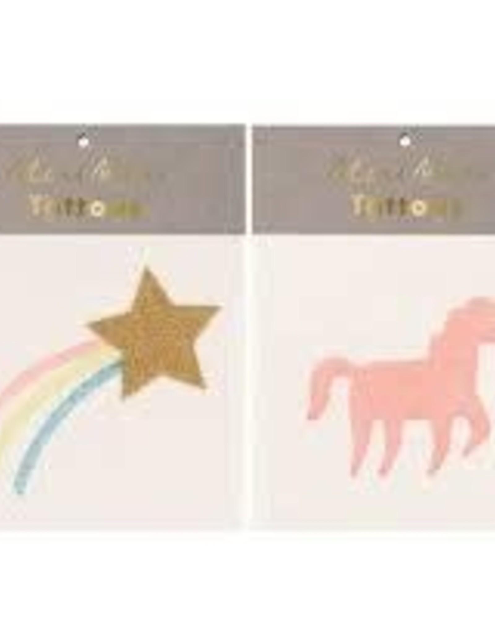 Meri Meri Tattoo: Star & Unicorn SM