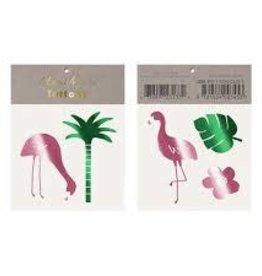 Meri Meri Tattoo: Tropical Flamingo SM