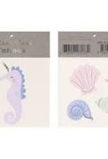 Meri Meri Tattoo: Seahorse & Shell SM