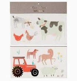 Meri Meri Tattoo: On the Farm LG