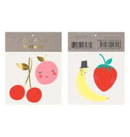 Meri Meri Tattoo: Happy Fruit SM