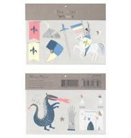Meri Meri Tattoo: Dragon & Knight LG