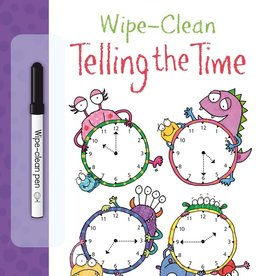 EDC Publishing Wipe-Clean Telling the Time