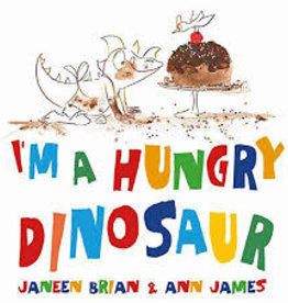 EDC Publishing I'm A Hungry Dinosaur