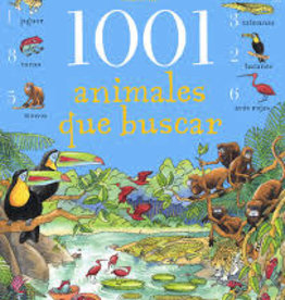 EDC Publishing 1001 Animales Que Buscar ( 1001 Animals to Spot)