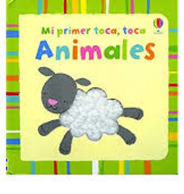 EDC Publishing Mi Primer Toca, Toca-Animales (Baby's Very First Touchy-Feely Animals)