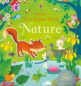 EDC Publishing First Sticker Book: Nature