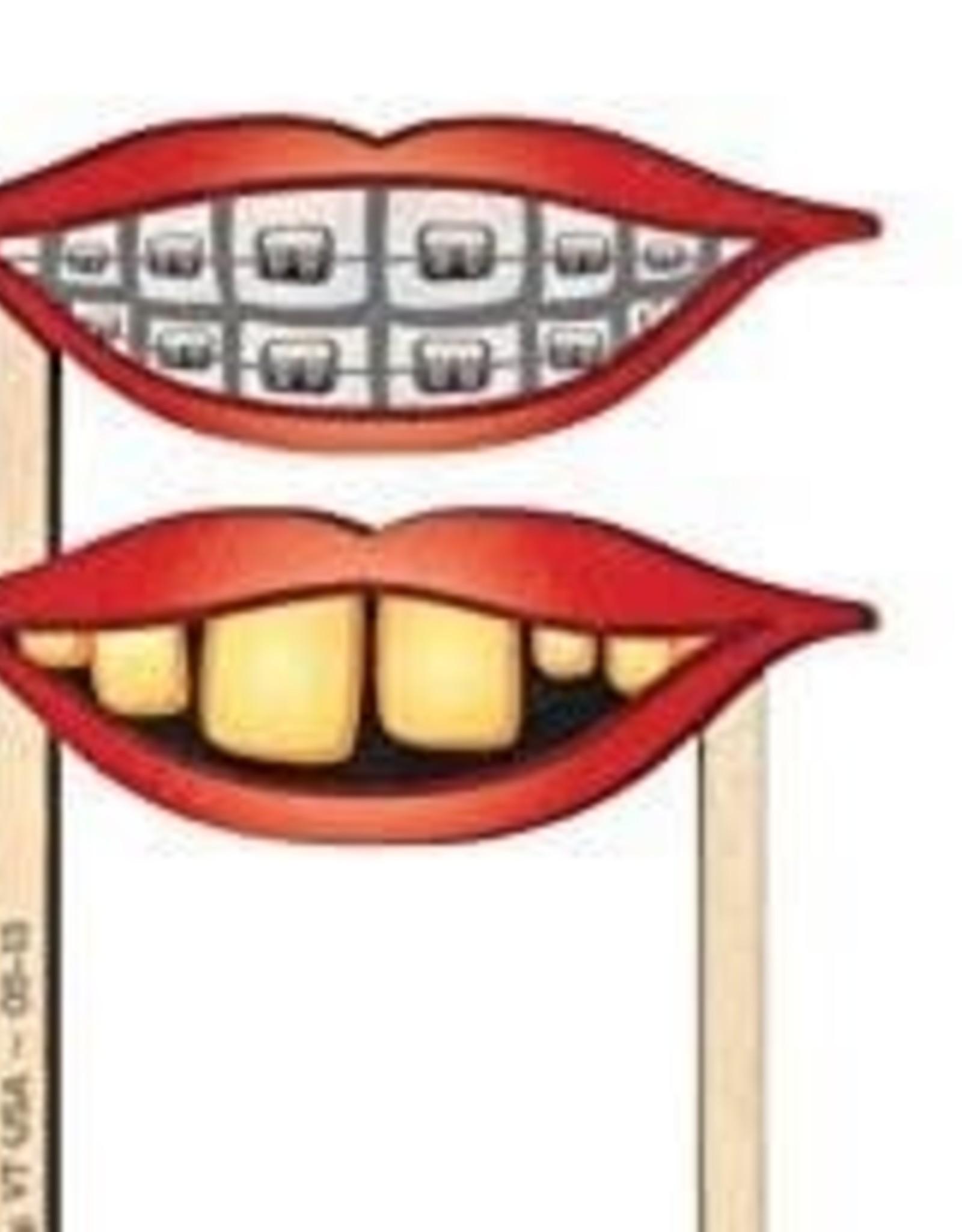 Maple Landmark Silly Sticks: Braces Teeth