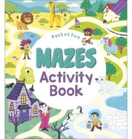 Baker and Taylor Publishers Pocket Fun: Mazes Activity Book