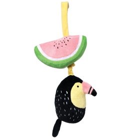 The Manhattan Toy Company Pull Musical Toucan