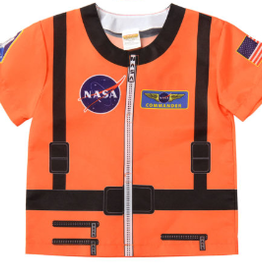 Aeromax Orange Astronaut shirt