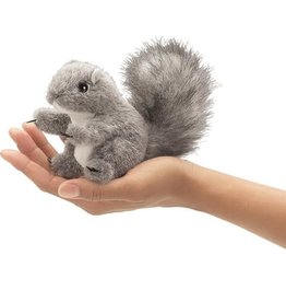 Folkmanis Finger Puppet: Gray Squirrel
