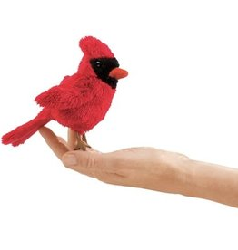 Folkmanis Finger Puppet: Cardinal