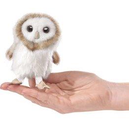 Folkmanis Finger Puppet: Barn Owl