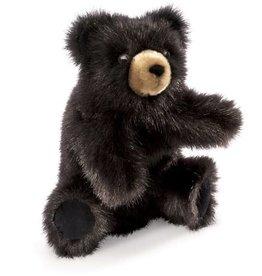 Folkmanis Puppet: Baby Black Bear