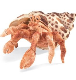 Folkmanis Puppet: Hermit Crab