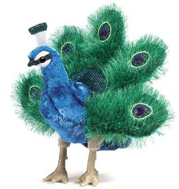 Folkmanis Puppet: Small Peacock