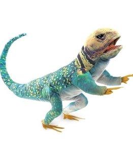 Folkmanis Puppet: Collared Lizard