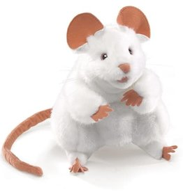 Folkmanis Puppet: White Mouse