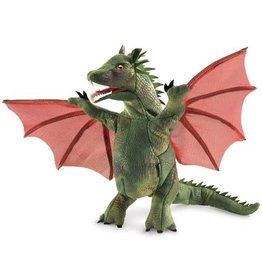 Folkmanis Puppet: Winged Dragon
