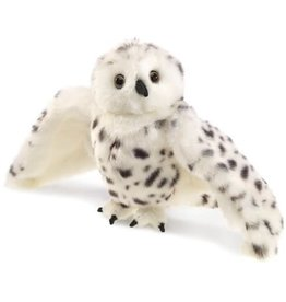 Folkmanis Puppet: Snowy Owl