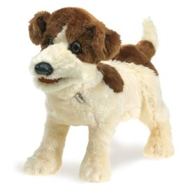 Folkmanis Puppet: Jack Russell Terrier