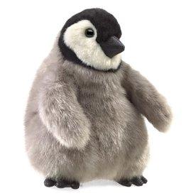 Folkmanis Puppet: Baby Emperor Penguin