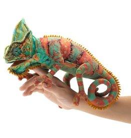Folkmanis Puppet: Small Chameleon