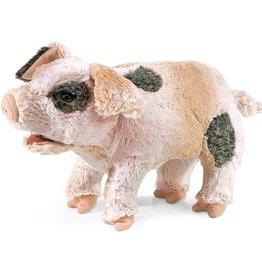 Folkmanis Puppet: Grunting Pig