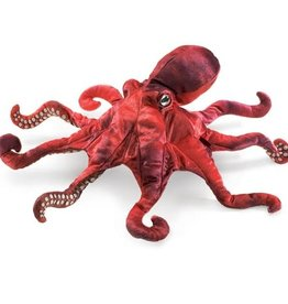 Folkmanis Puppet: Red Octopus