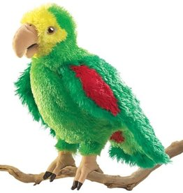 Folkmanis Puppet: Amazon Parrot