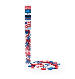 Plus Plus Plus-Plus Tube: Patriotic Mix