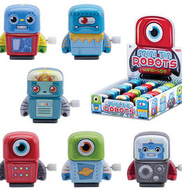 Schylling Wind-up Tin Robots